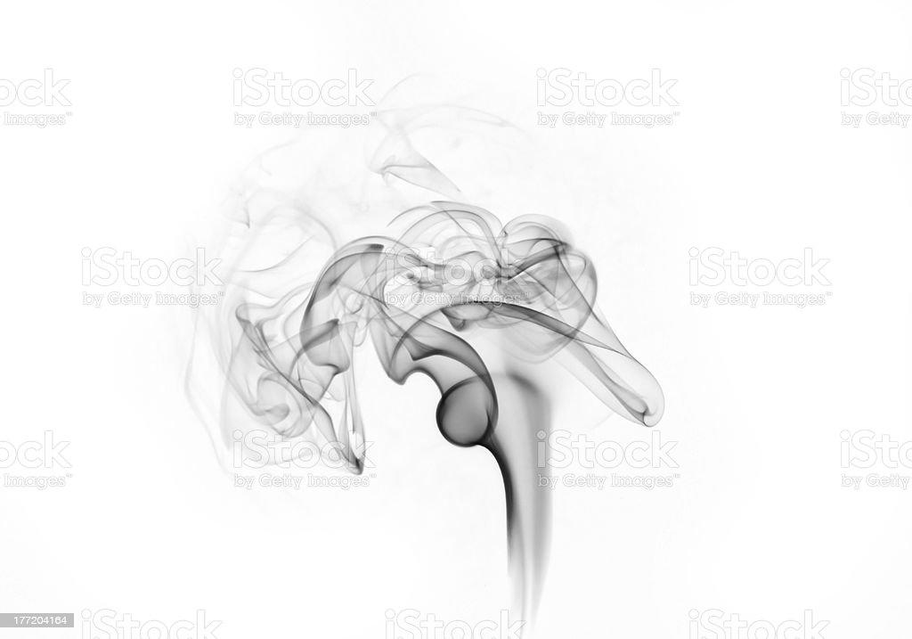 dark smoke royalty-free stock photo