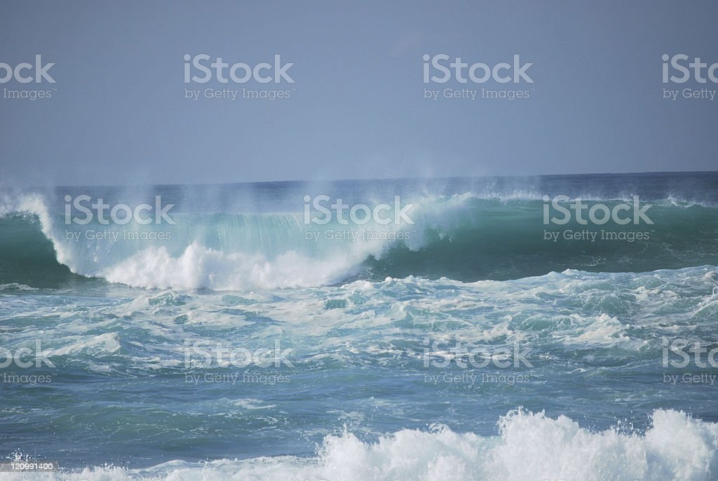 Dark stormy Sea Waters royalty-free stock photo