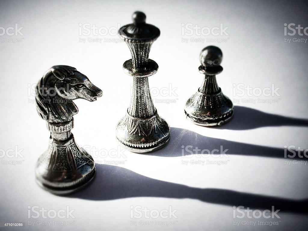 Dark Strategy stock photo