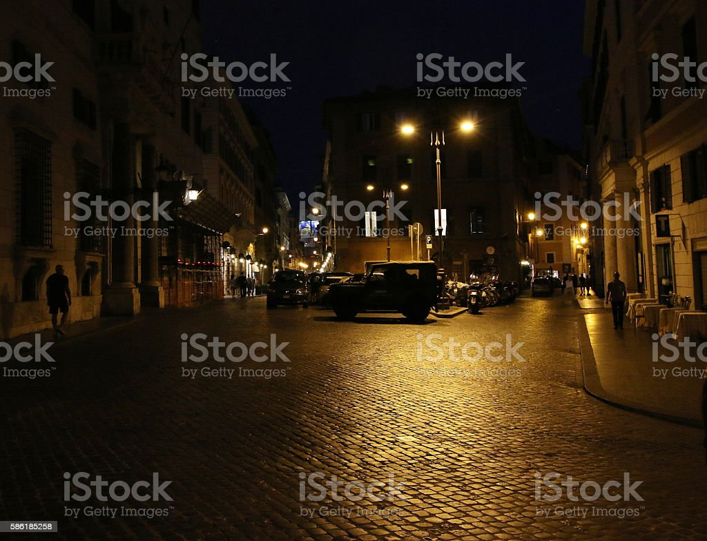 Dark Street Gangster stock photo