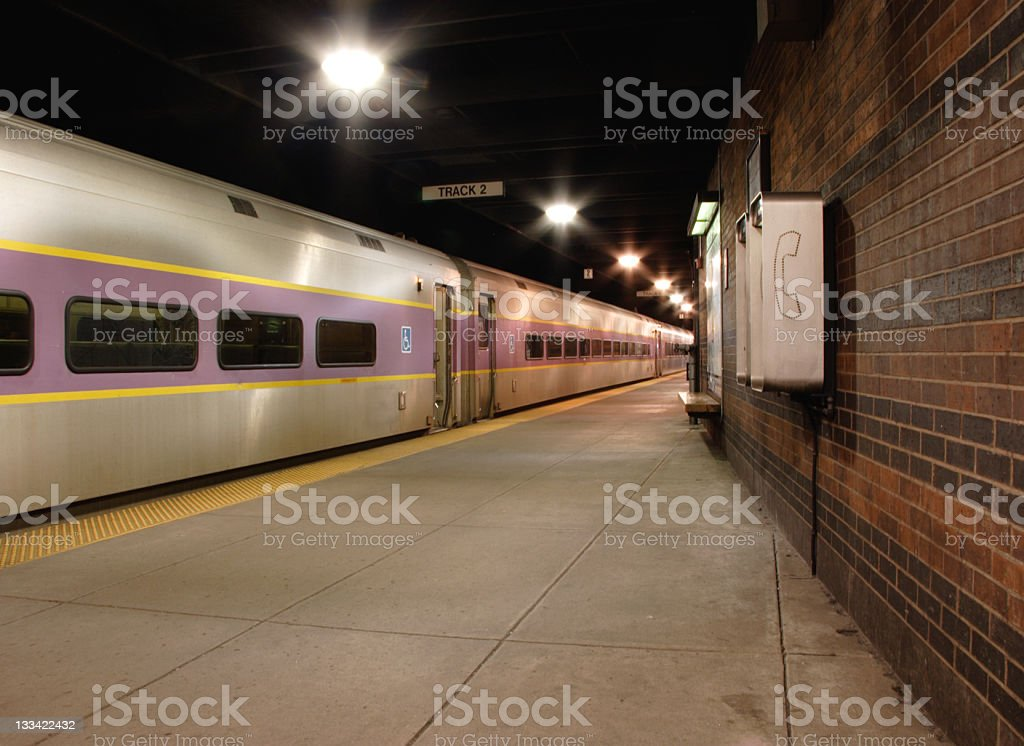 Dark Subway royalty-free stock photo