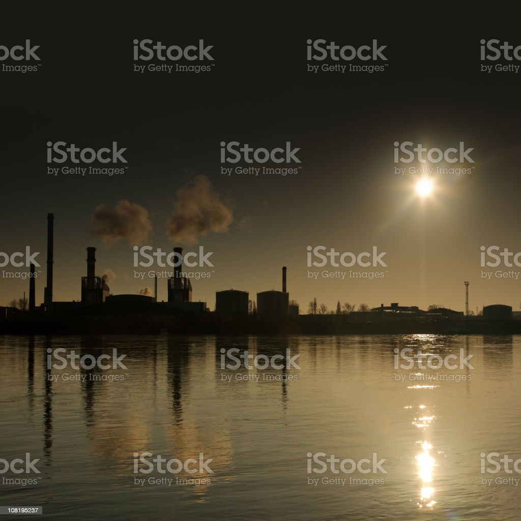 dark sunrise royalty-free stock photo