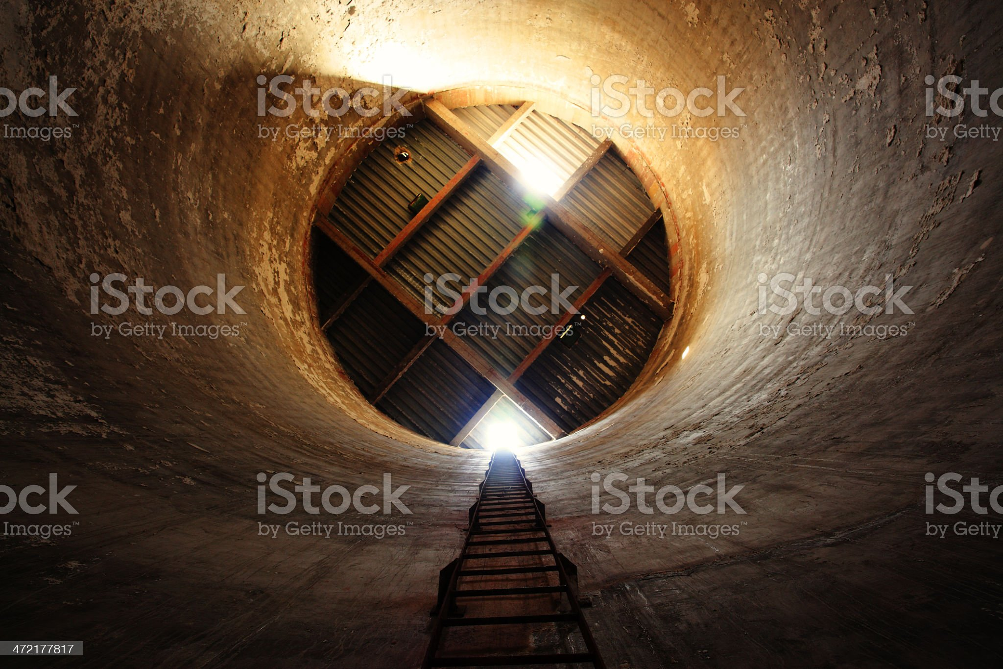Dark Tunnel royalty-free stock photo