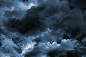 Dark Turbulent Storm Ominous Clouds