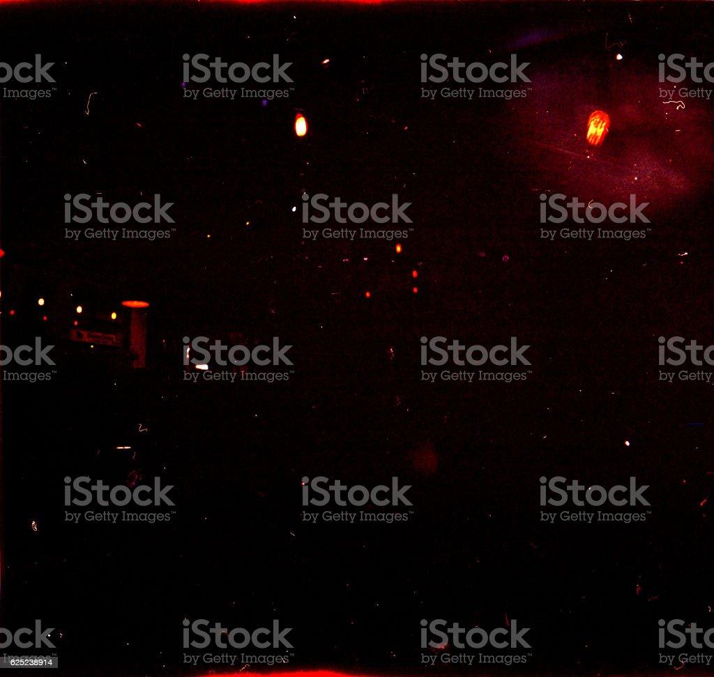 Dark Underexposed Lights stock photo
