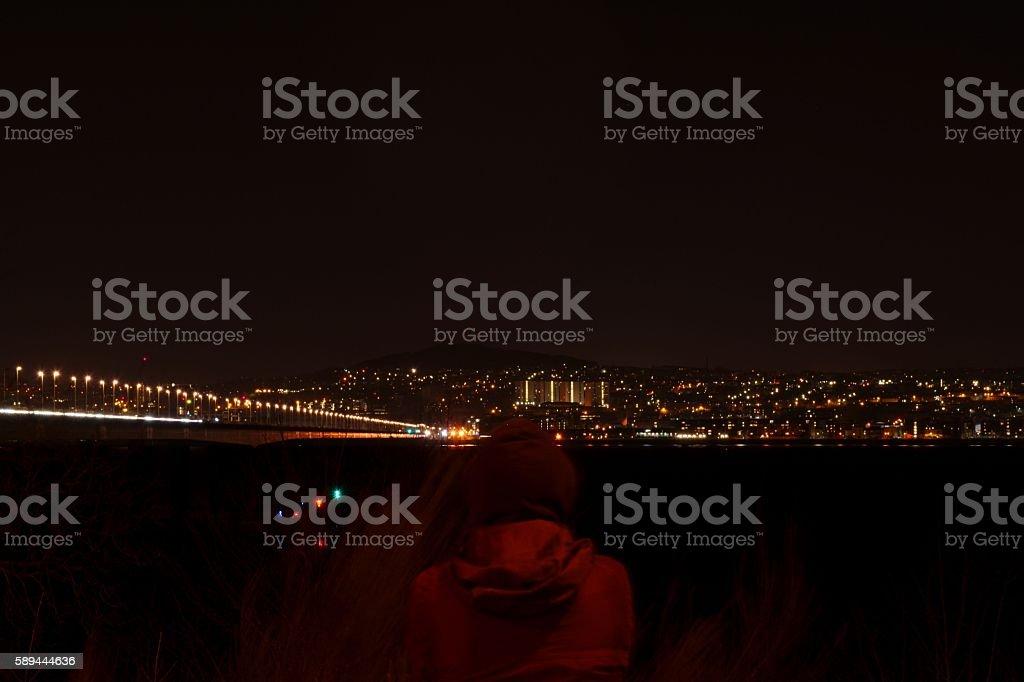Dark View stock photo