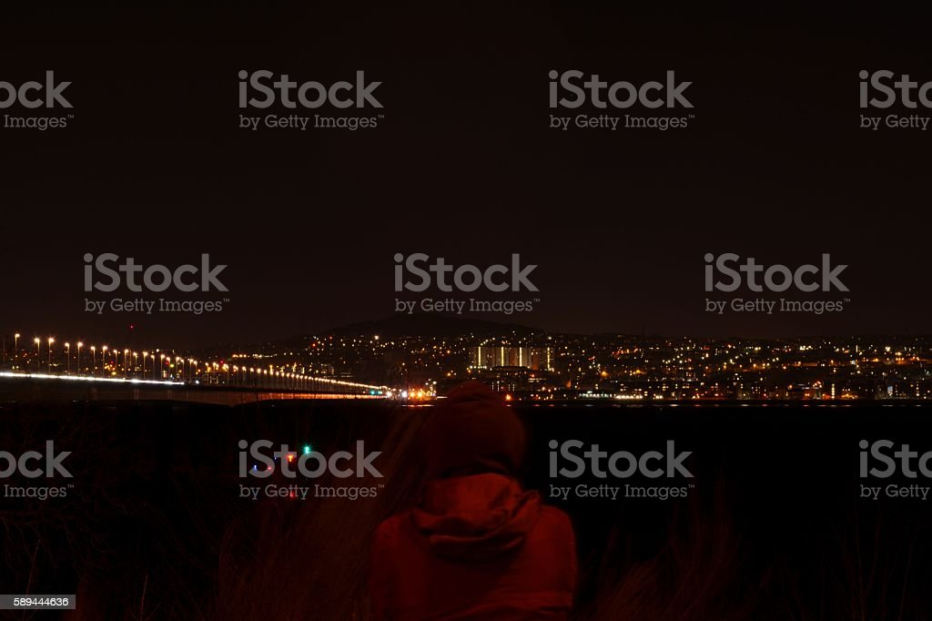 Dark View stock photo
