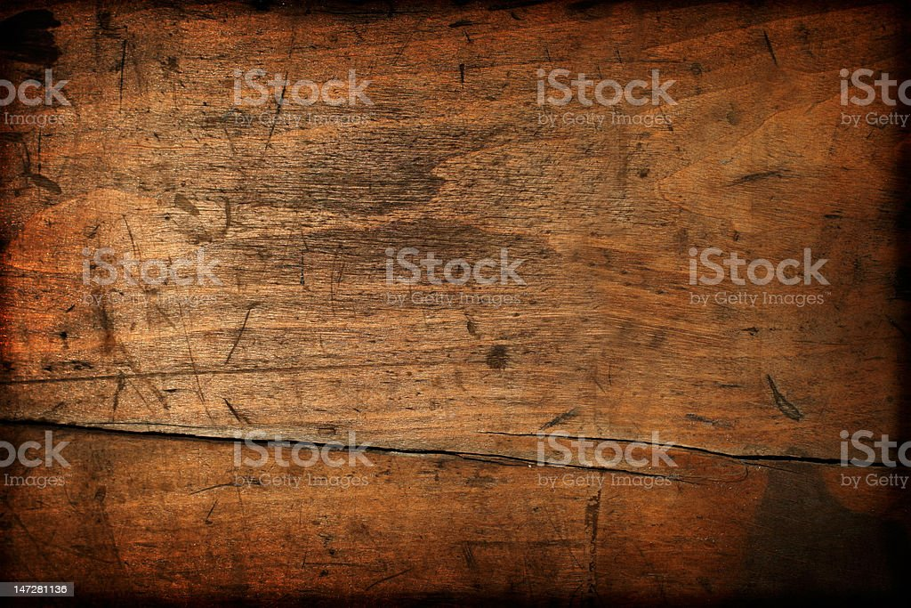 Dark vintage wood texture stock photo