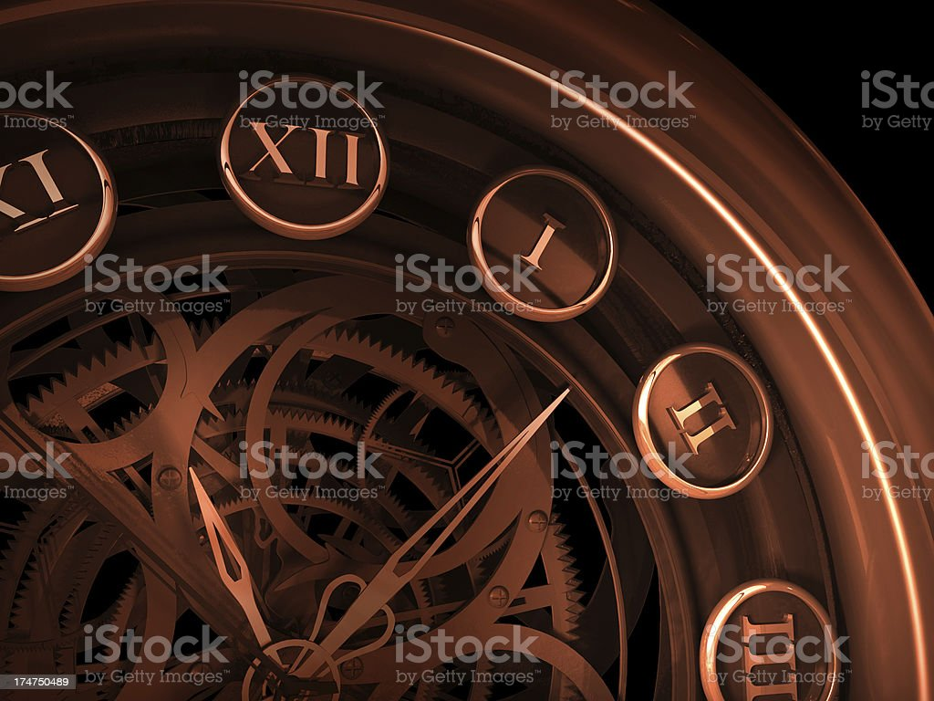 Dark Watches royalty-free stock photo
