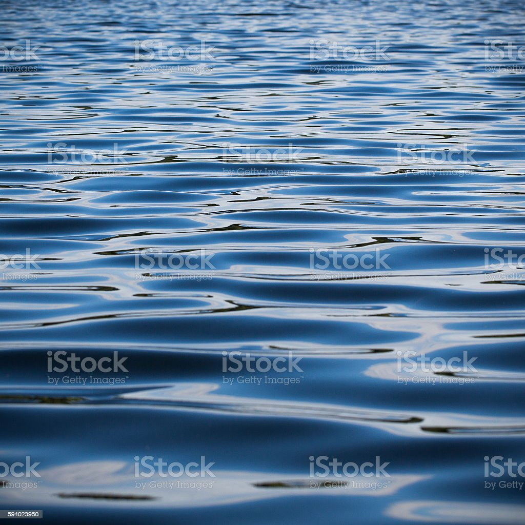 Dark water stock photo