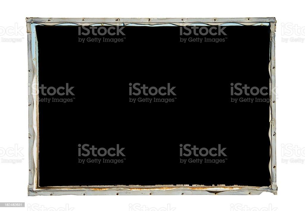 Dark Window royalty-free stock photo