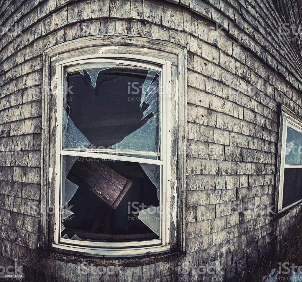 Dark Within the Window royalty-free stock photo