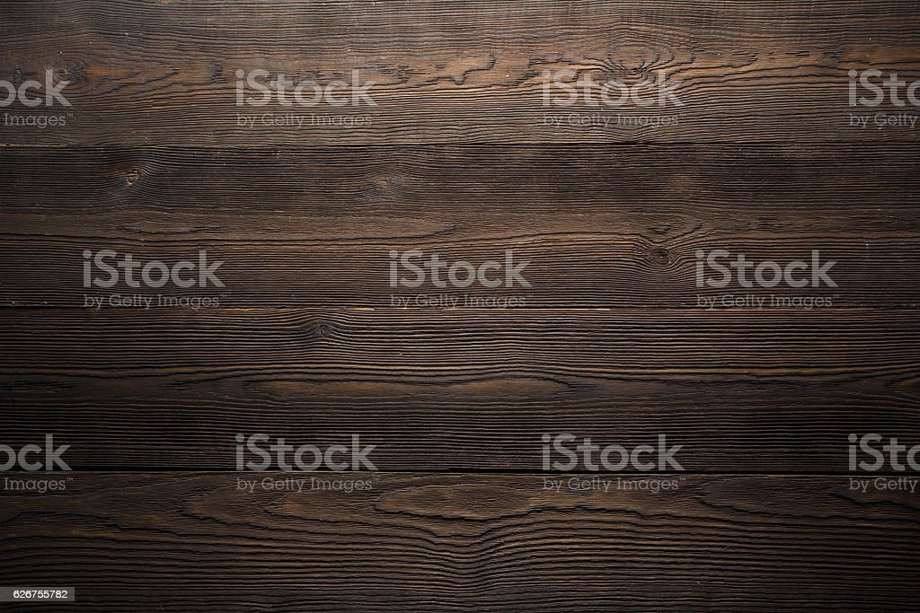 Dark wood background brown color stock photo