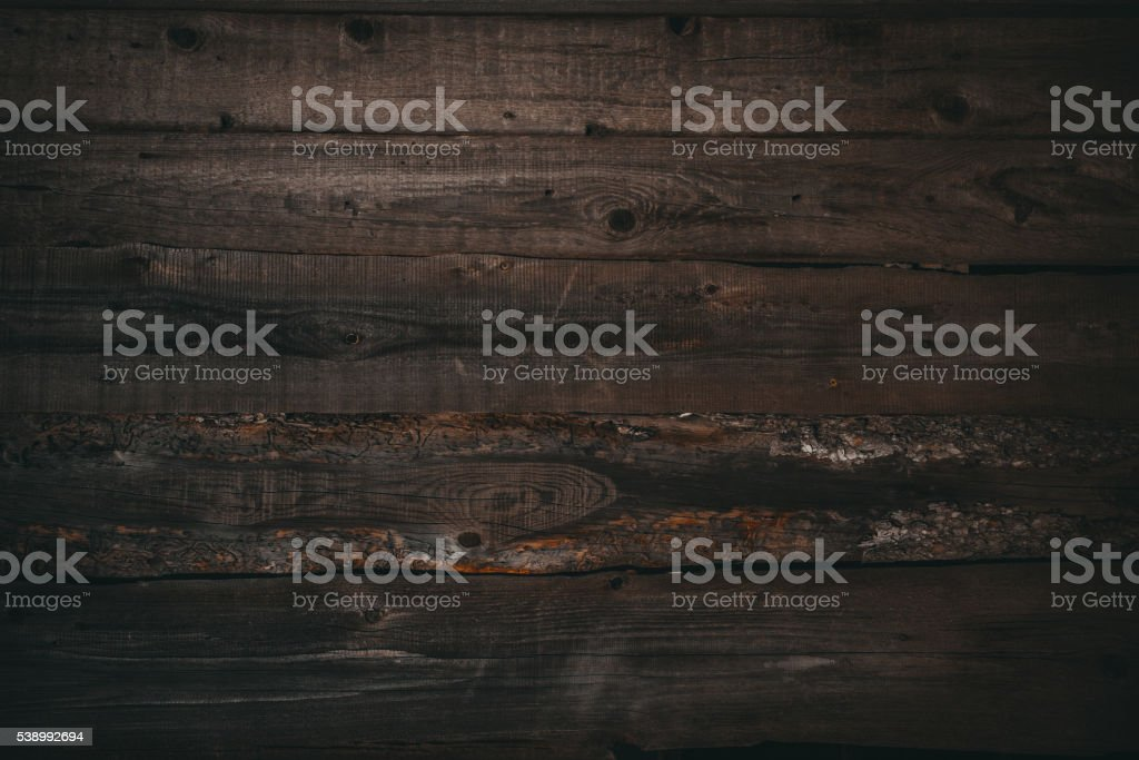 dark wood board use for background stock photo