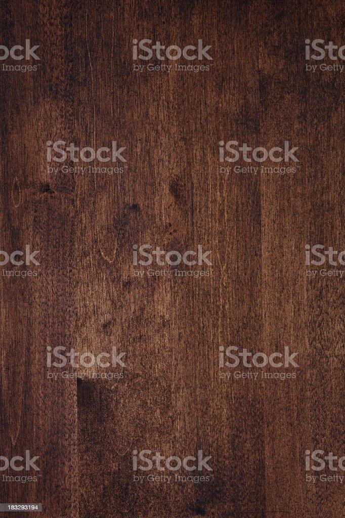 Dark wood grain texture stock photo