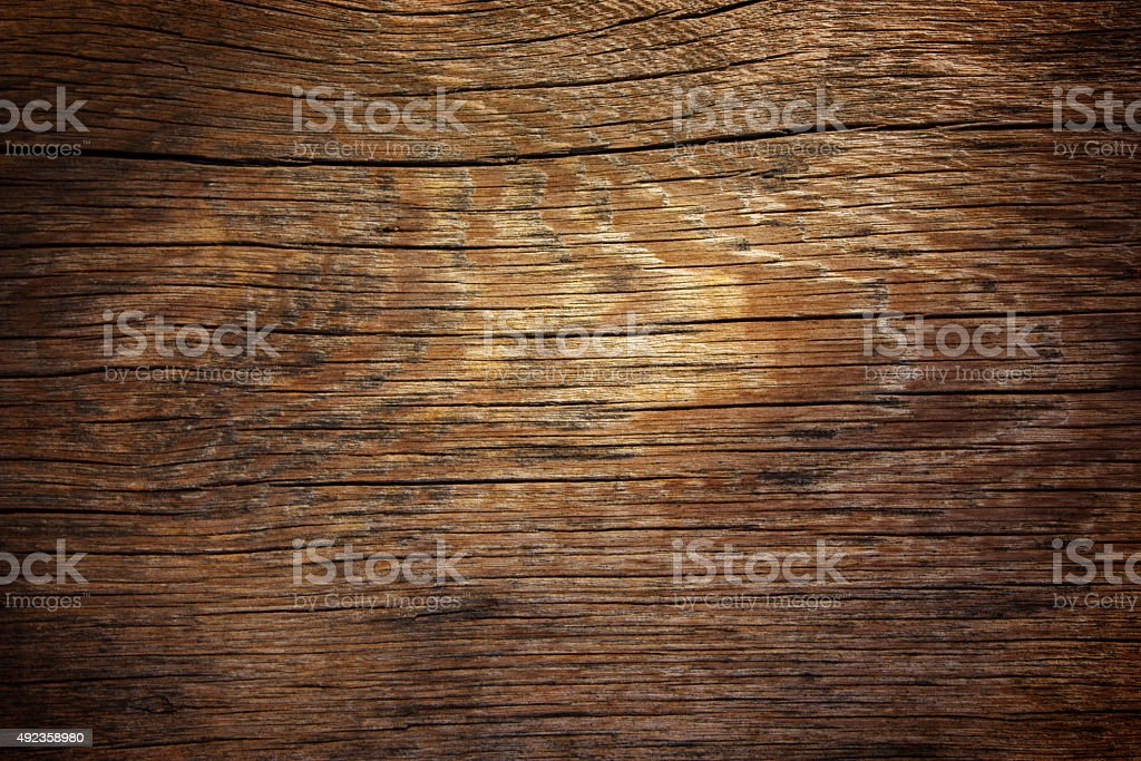Dark wooden background stock photo