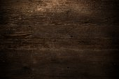 Dark wooden background