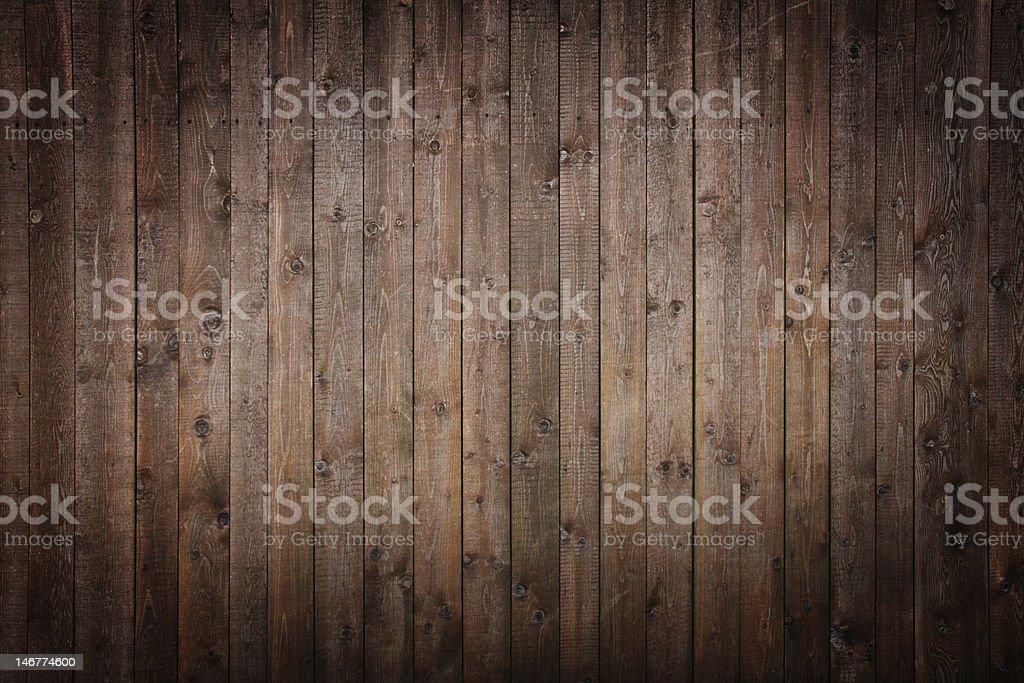 Dark wooden panels stock photo
