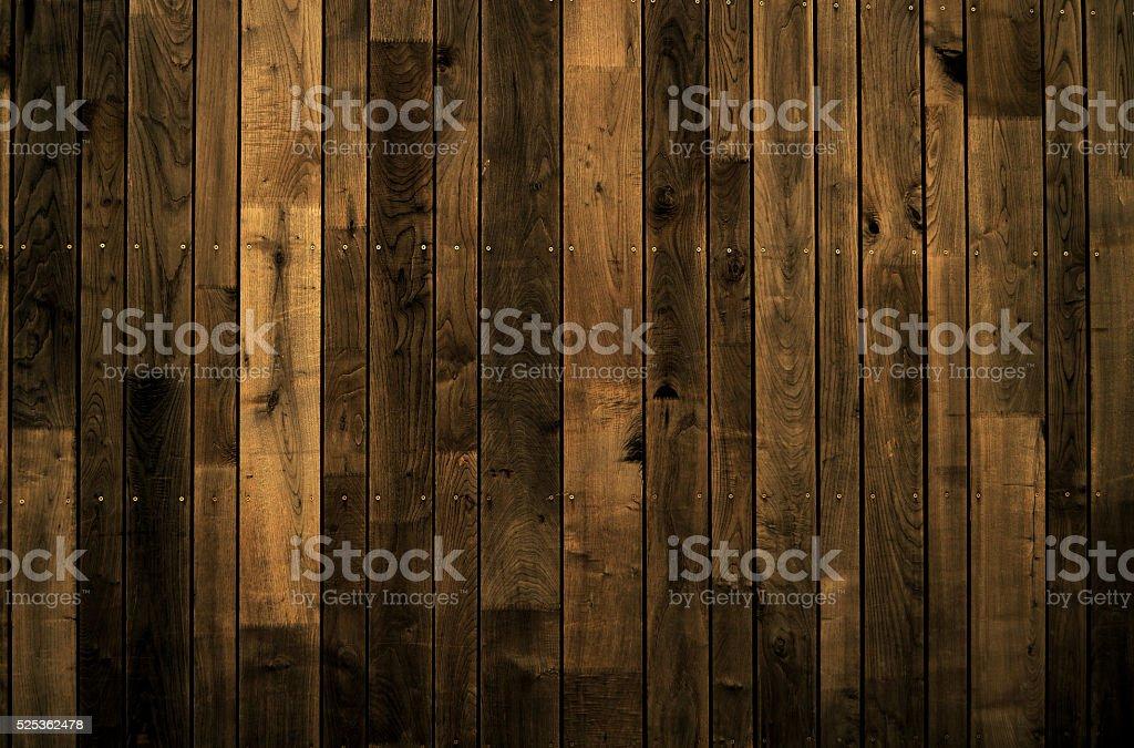 Dark Wooden wall background stock photo