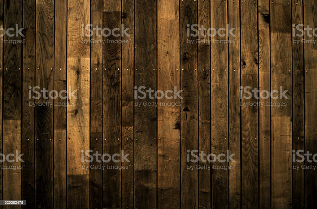 Dark Wooden wall background stock photo