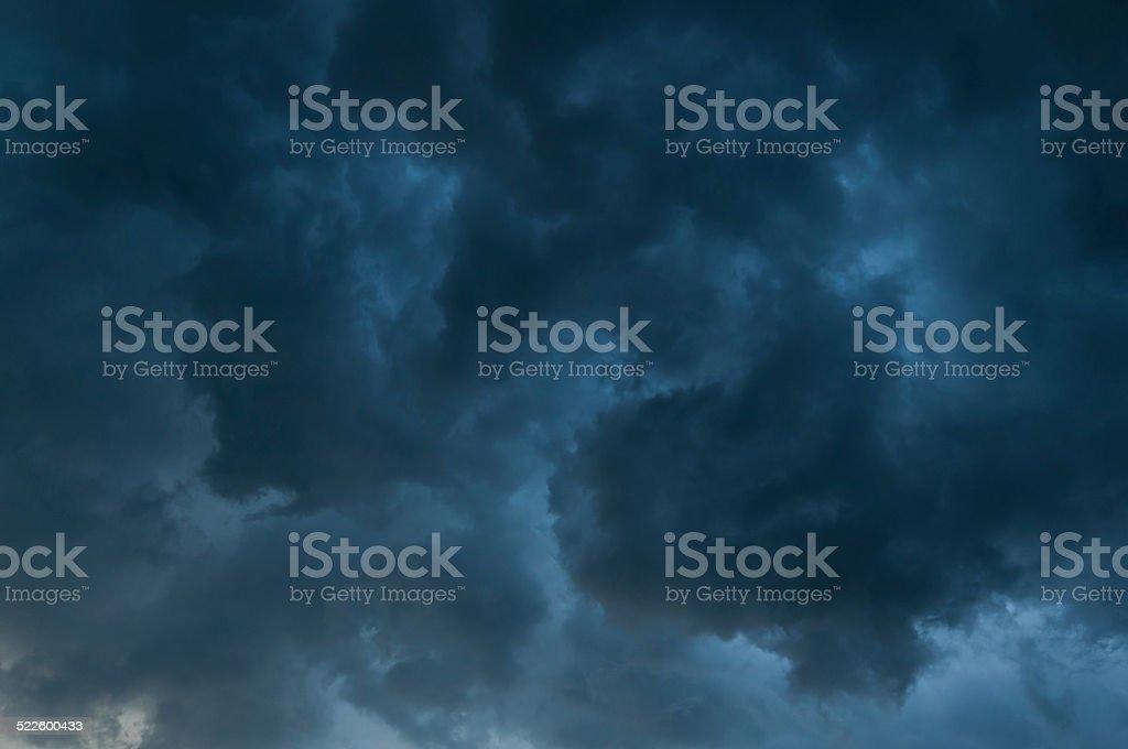 Darken clouds royalty-free stock photo