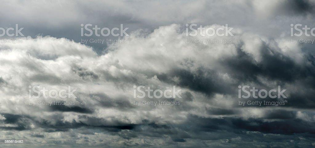 Darkening Cloudscape stock photo