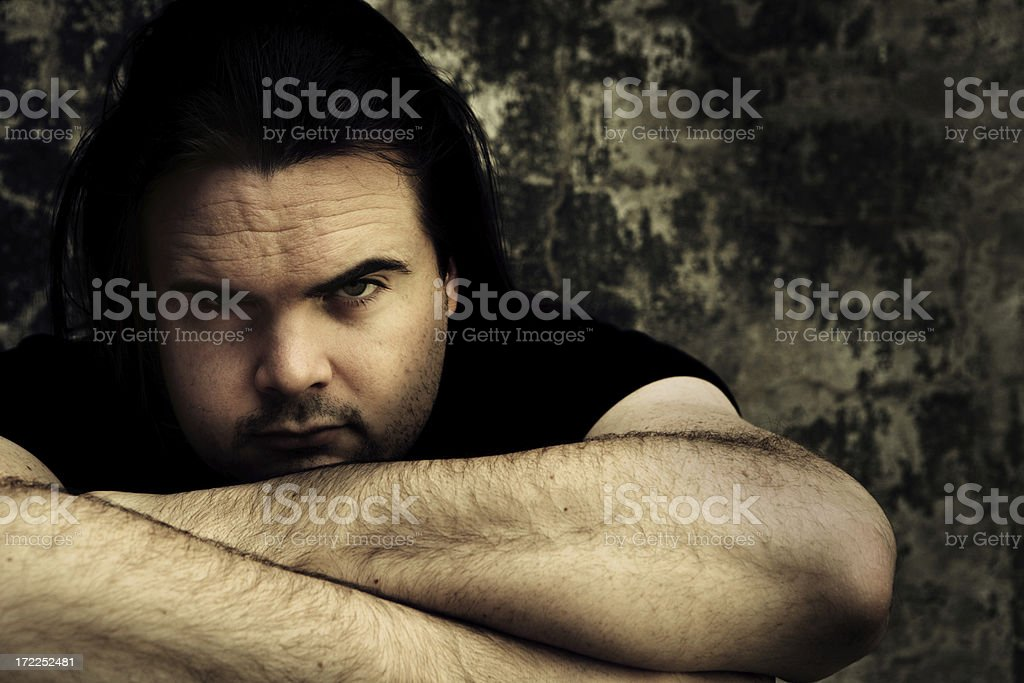 Darkness in Me royalty-free stock photo
