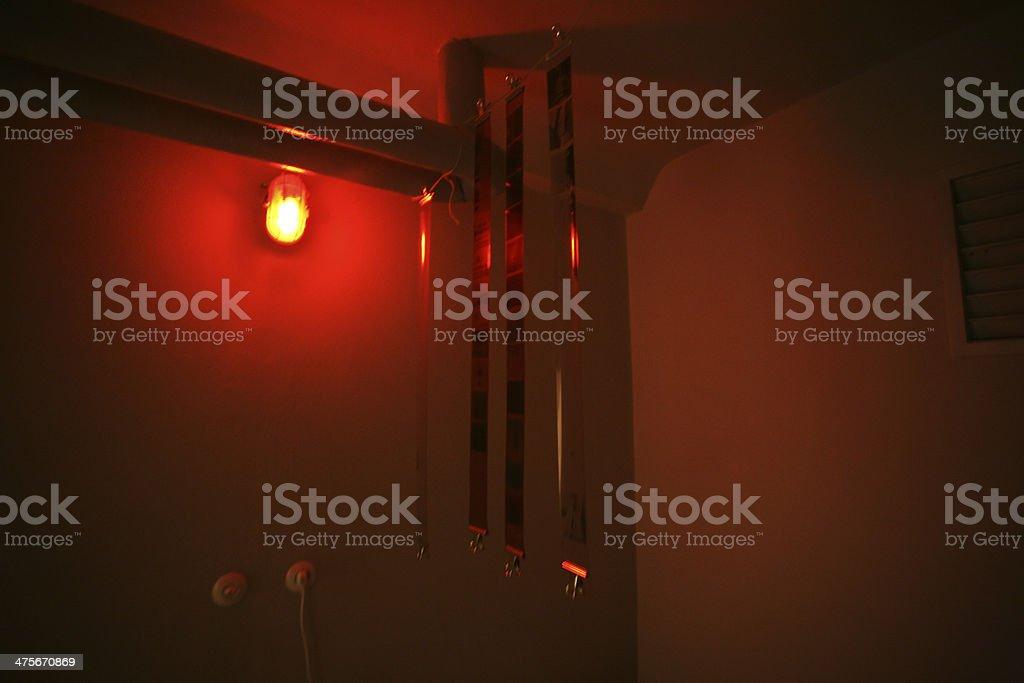 Darkroom stock photo