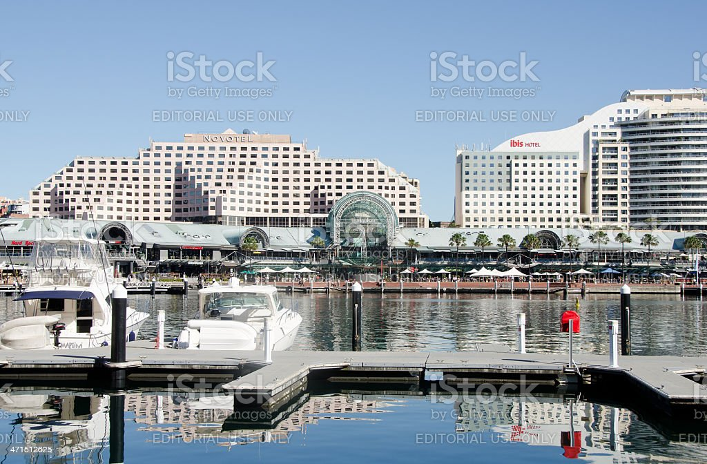 Darling Harbor, Sydney Australia stock photo