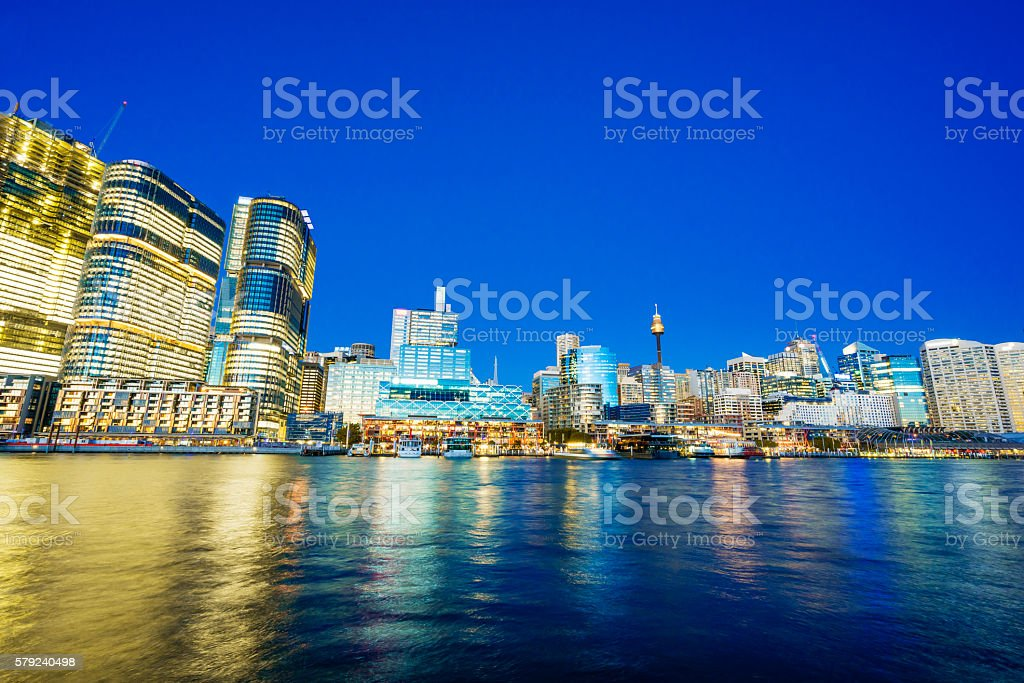Darling Harbour of Sydney stock photo