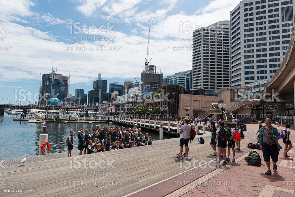 Darling Harbour, Sydney Australia stock photo