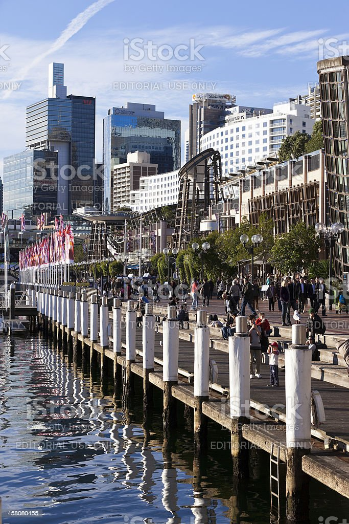 Darling Harbour Sydney royalty-free stock photo