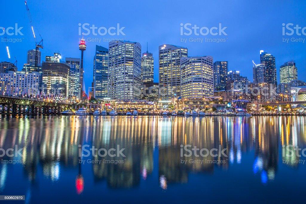 Darling harbour, Sydney stock photo