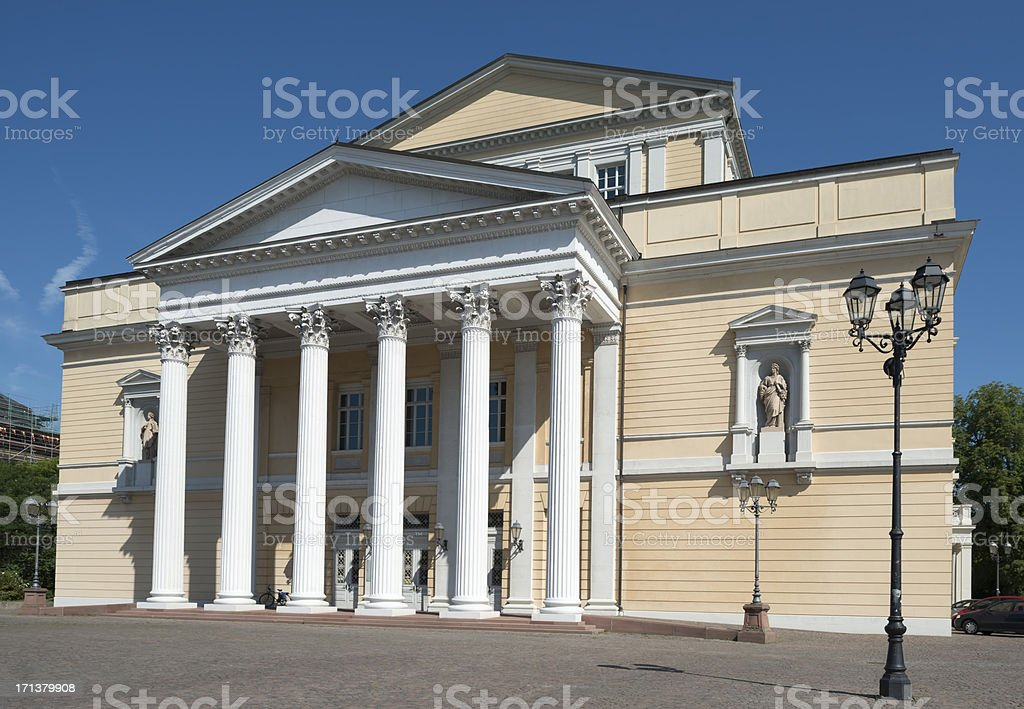 Darmstadt, German Museum, Old Theater, Hassia, Germany stock photo