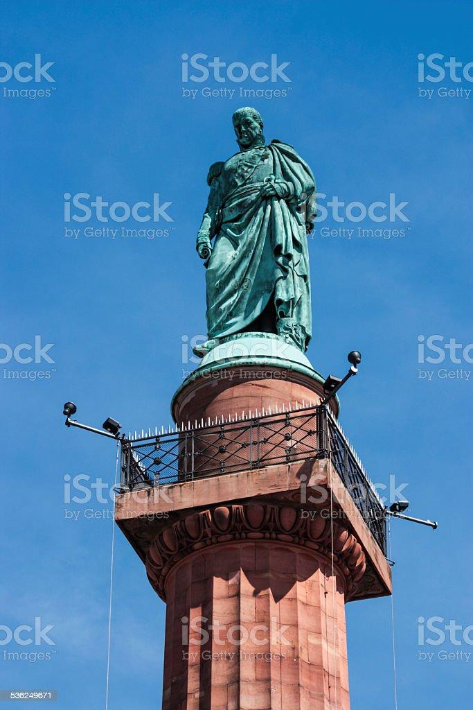 Darmstadt Statue stock photo