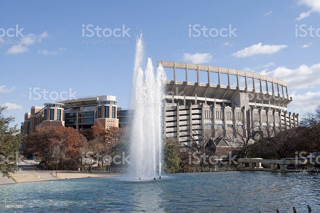 Darrell Royal Stadium in Austin, Texas stock photo