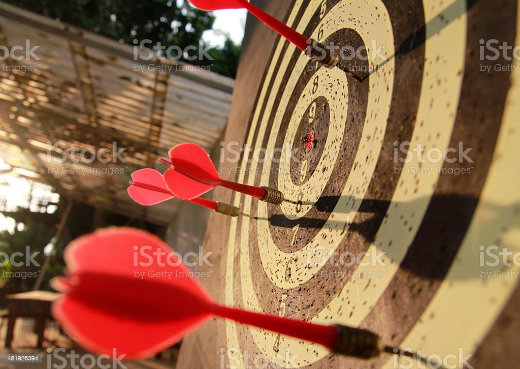 dart arrow stock photo