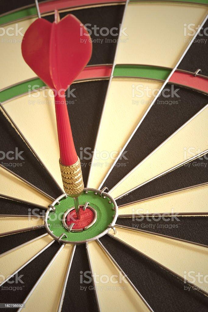Dart Board Bullseye royalty-free stock photo