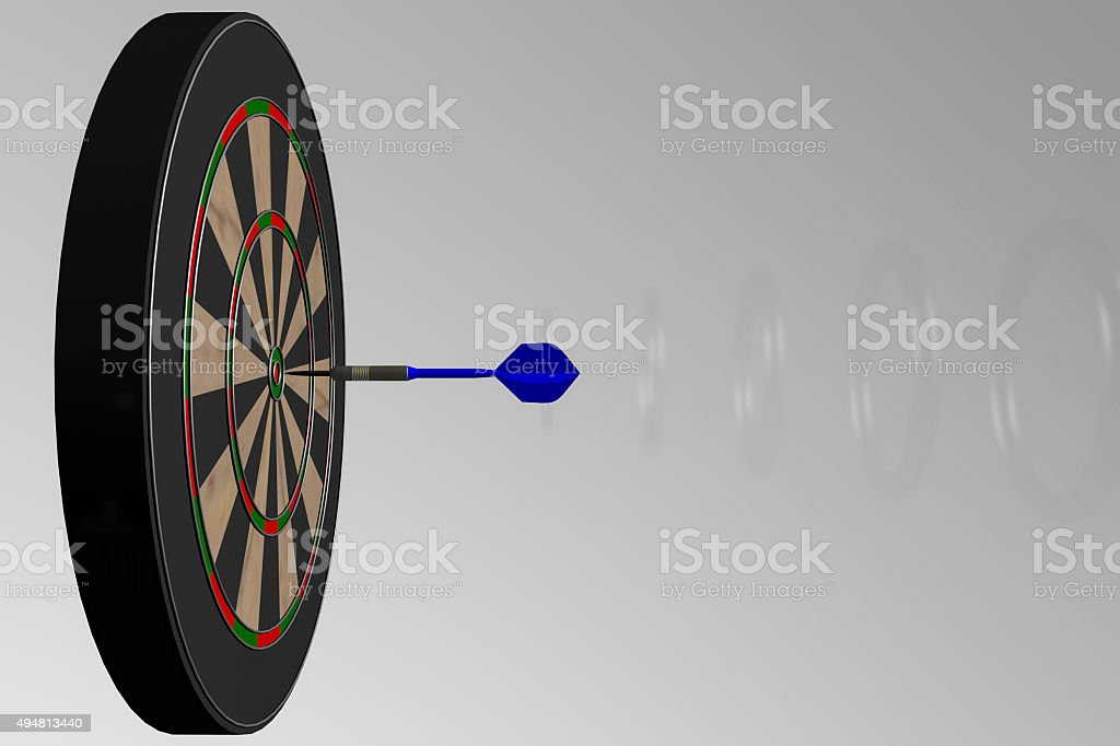 Dart stock photo
