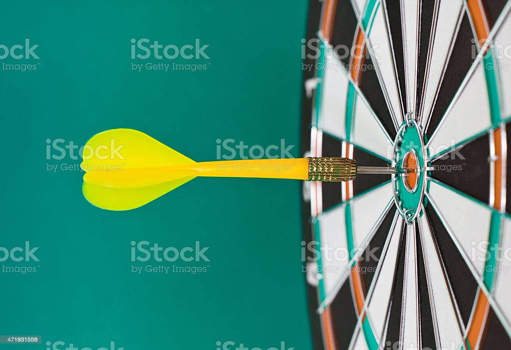 Dart sticks stock photo