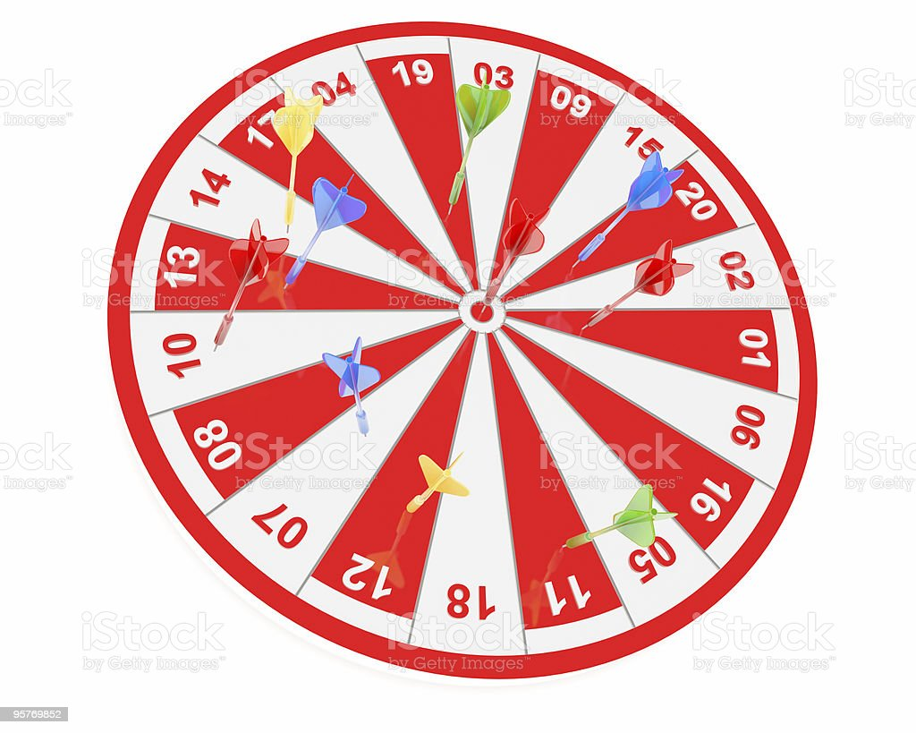 dart , success concept royalty-free stock photo