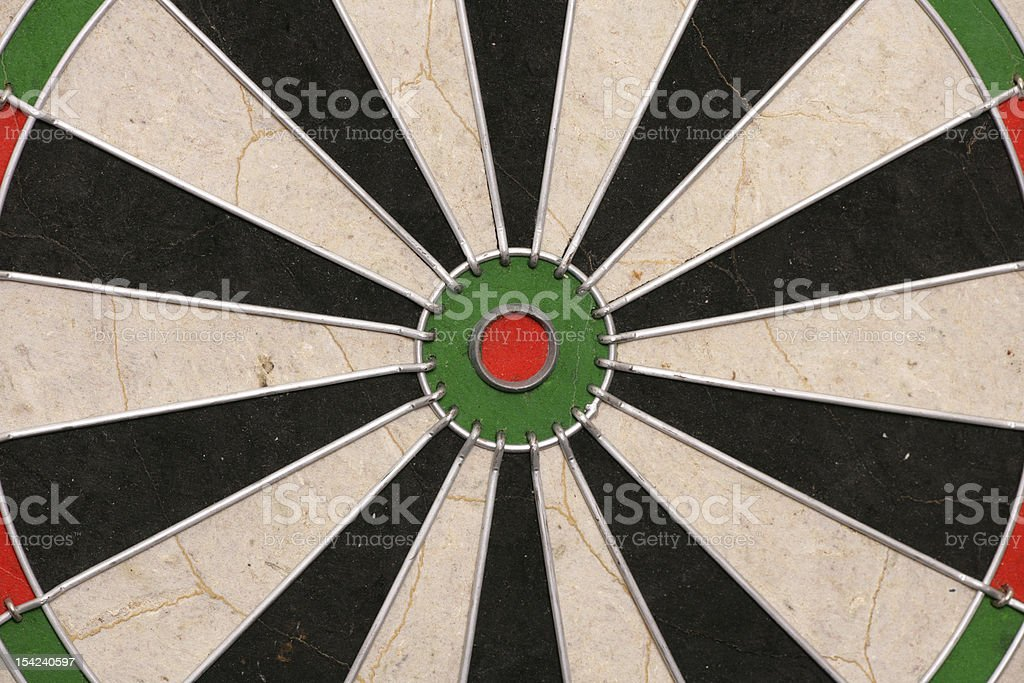 Dartboard abstract background royalty-free stock photo