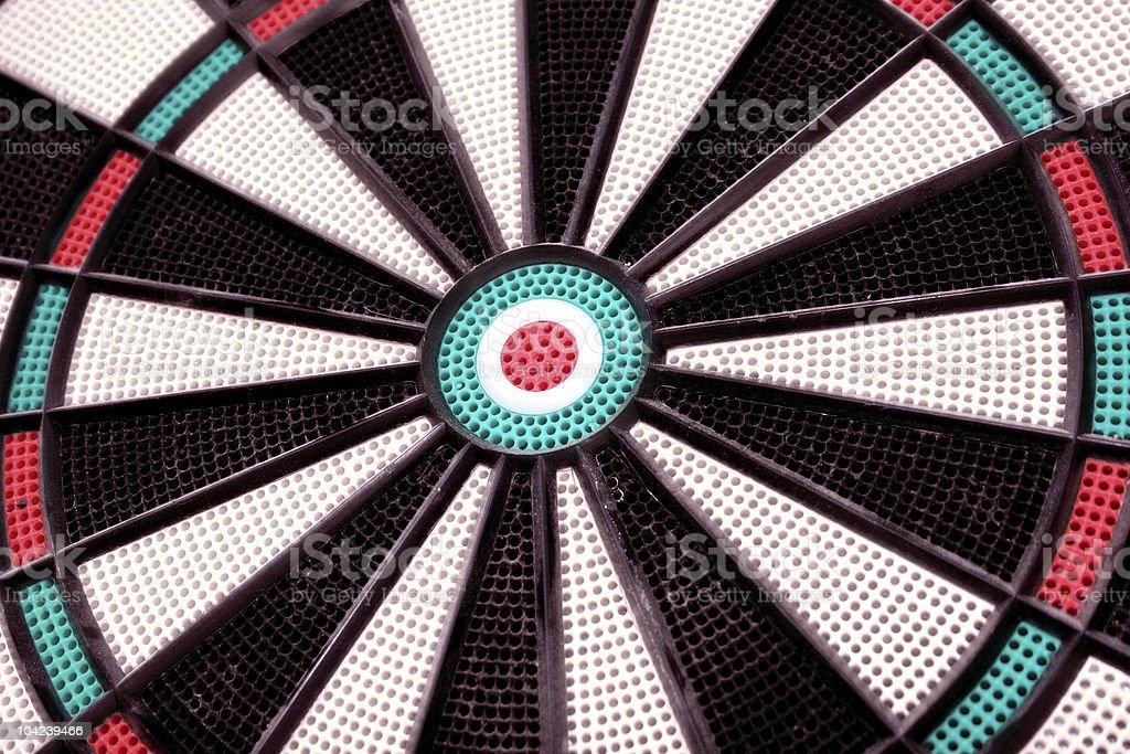 Dartboard Closeup stock photo