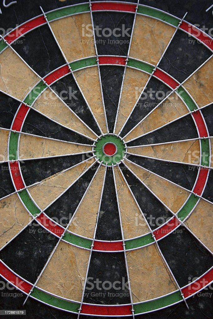dartboard royalty-free stock photo