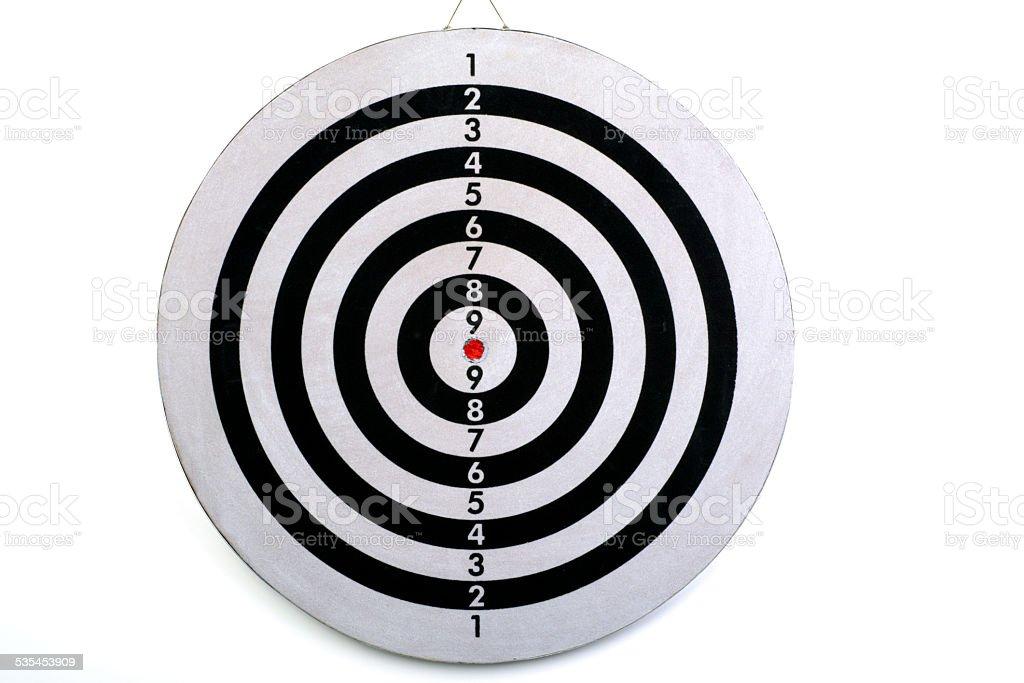 dartboard stock photo