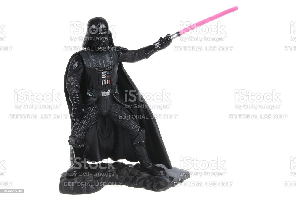 Darth Vader Action Figure stock photo