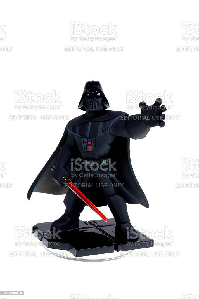 Darth Vader Disney Infinity 3.0 Figurine stock photo