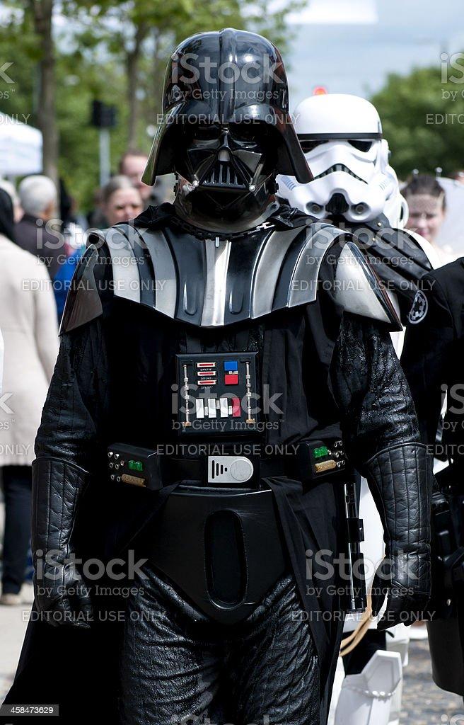 Darth Vader from Star Wars stock photo