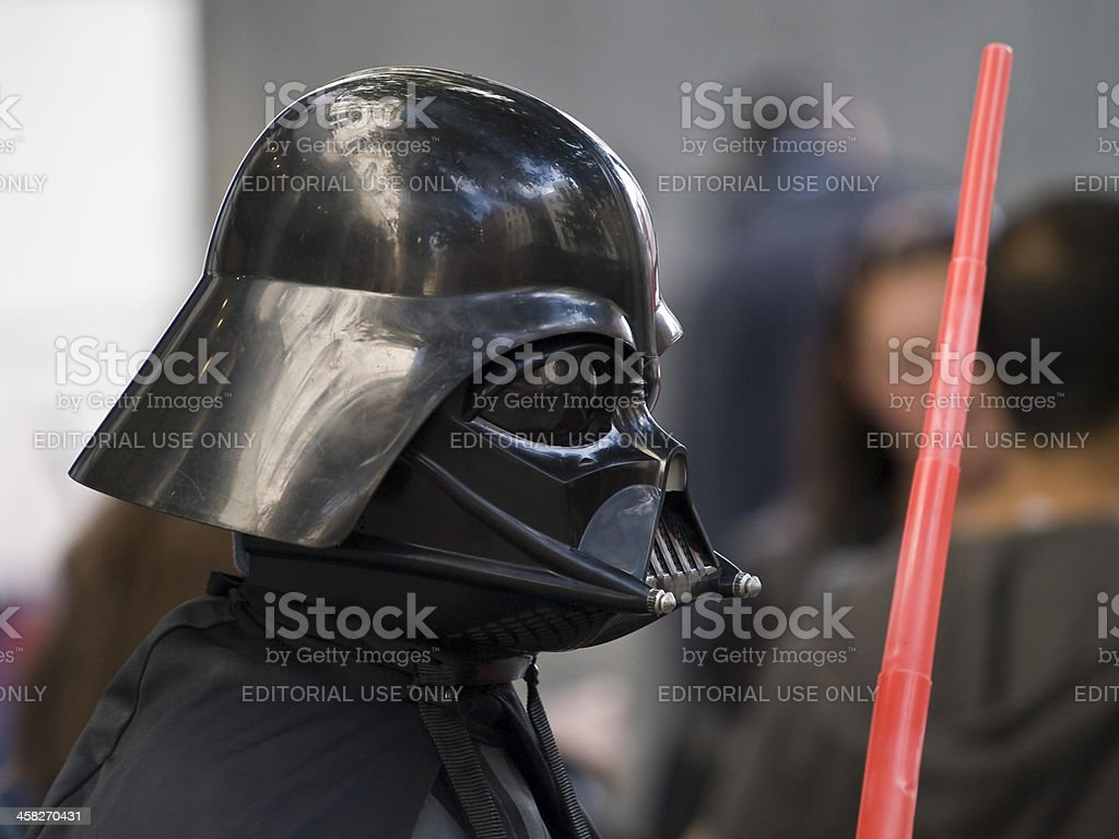 Darth Vader stock photo