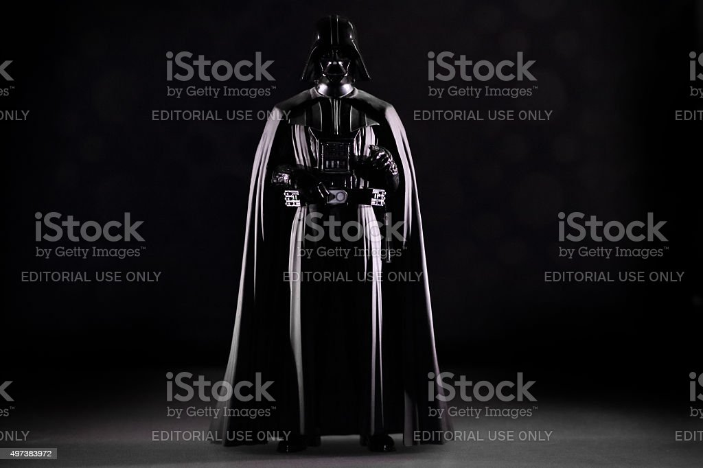 Darth Vader stock photo